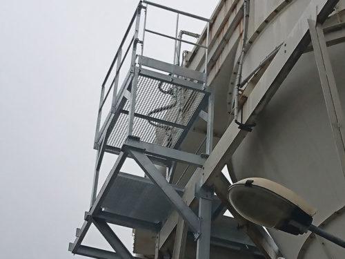 Nos passerelles pour la sécurité de chantier bâtiment - Métal-s